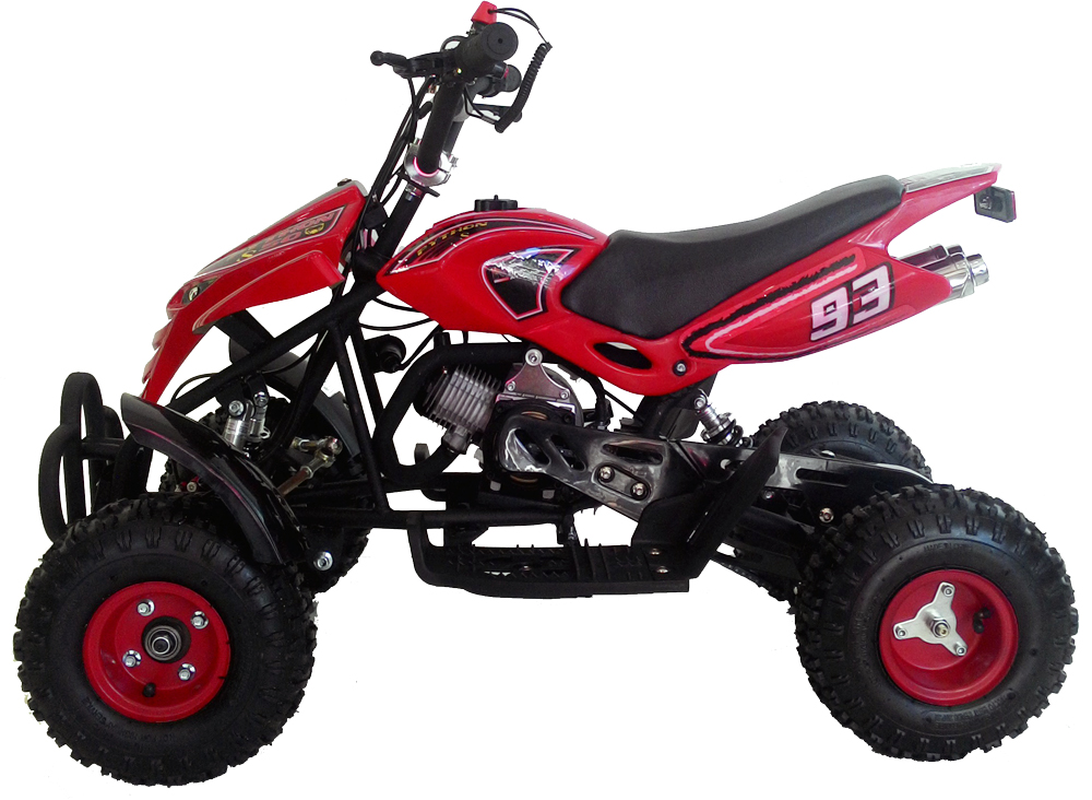 mini quad moto ncx python s 50cc sport motore 2 tempi monocilind rosso ebay. Black Bedroom Furniture Sets. Home Design Ideas