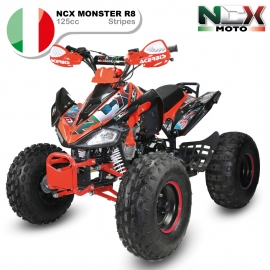 NCX MONSTER STRIPES 125cc R8