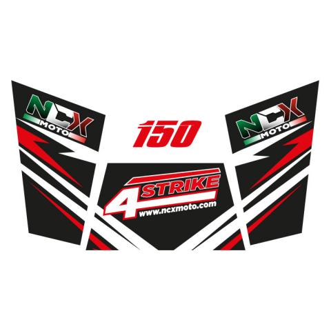 KIT GRAFICHE NCX BUGGY 4STRIKE 150 NERO IN PVC 55 micron