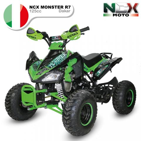 KIT PLASTICHE CARENE BIANCHE QUAD MONSTER