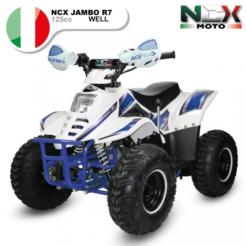 NCX JAMBO WELL  R7 125cc