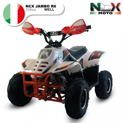 NCX JAMBO WELL R6 125cc