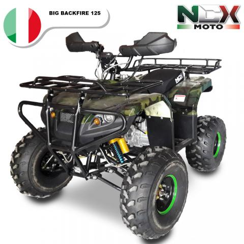 NCX BIG BACKFIRE 125cc