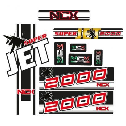 KIT GRAFICHE NCX SUPERJET IN PVC 55 micron