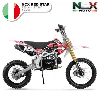 KIT CARENE BIANCHE PITBIKE RED STAR